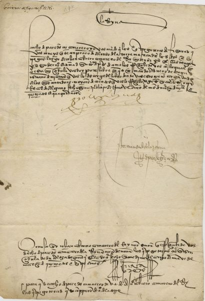 Christopher Columbus Letter To King Ferdinand.Isabella Signed Historical Document The Raab Collection