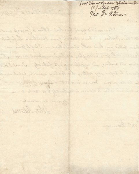 John Adams Signed Letter 1795   The Raab Collection