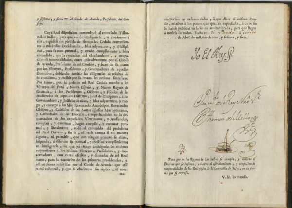 foto de Charles III Document Signed New World | Raab Collection