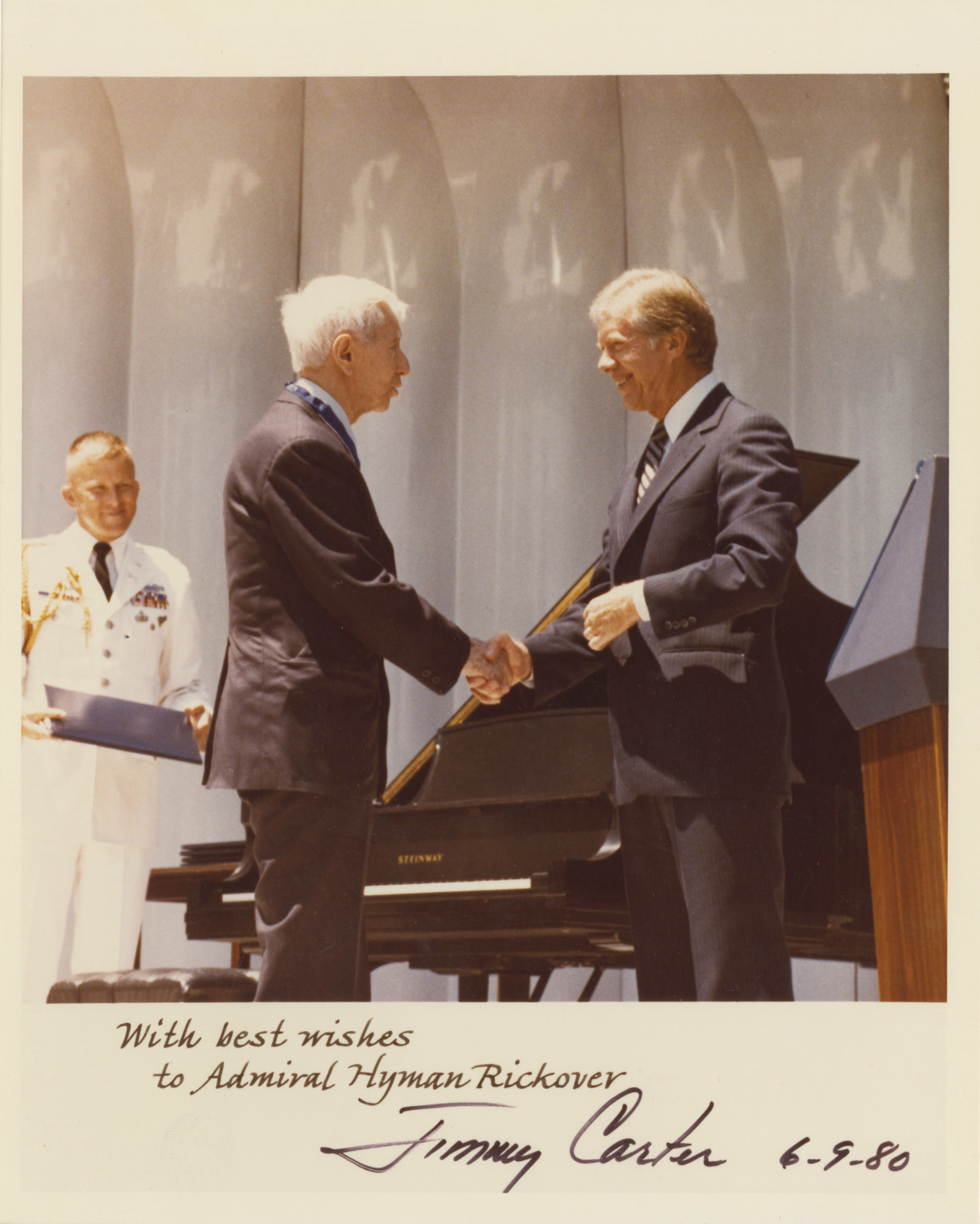 Jimmy Carter Signed Photo Raab Collection
